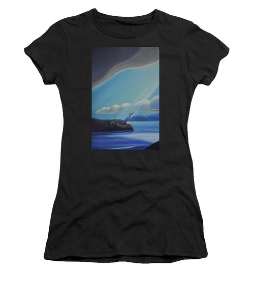 Ode To The North II - Left Panel Women's T-Shirt