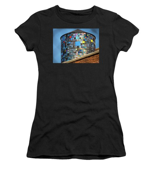 Ode To Water Towers Women's T-Shirt (Athletic Fit)