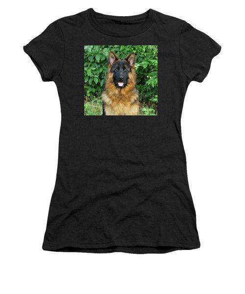 Women's T-Shirt (Junior Cut) featuring the photograph Oden by Sandy Keeton