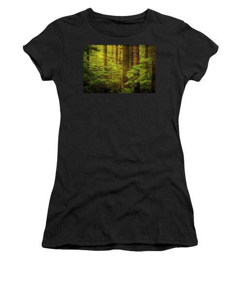 Of Elves And Faeries Women's T-Shirt (Athletic Fit)