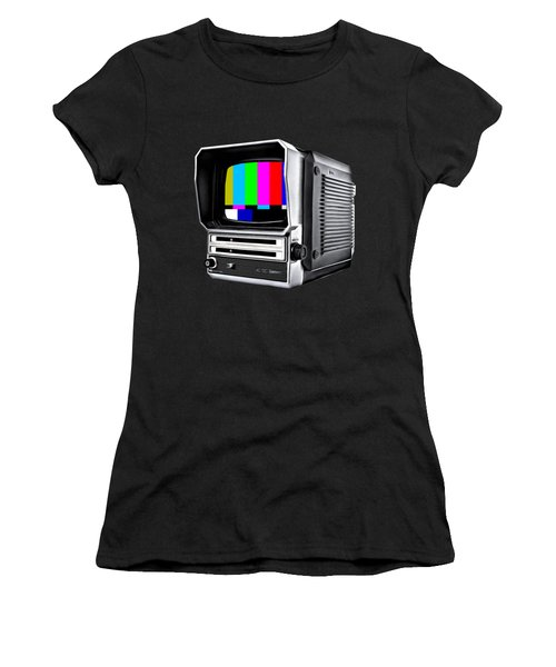 Women's T-Shirt featuring the photograph Off Air Tee by Edward Fielding