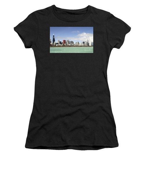 Off The Shore Of Chicago Women's T-Shirt