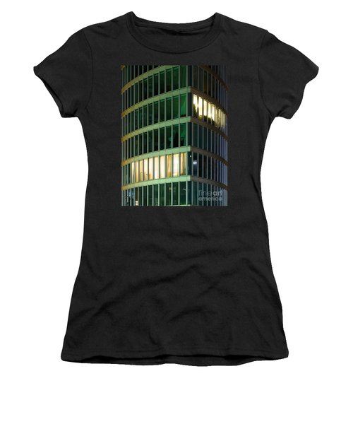 Office Building At Night Women's T-Shirt