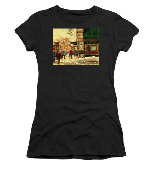 Ogilvys Department Store Downtown Montreal Women's T-Shirt (Athletic Fit)