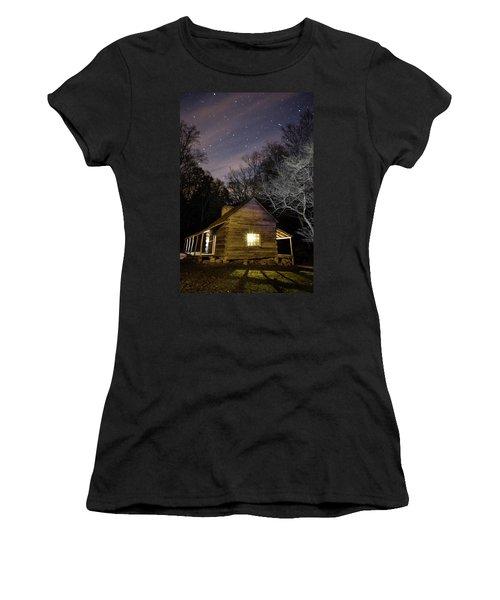 Ogle Cabin Women's T-Shirt (Athletic Fit)