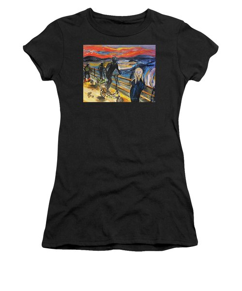 Oh No,elliptigo Women's T-Shirt