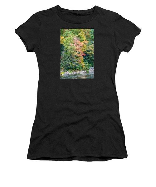 Ohio Pyle Colors - 9709 Women's T-Shirt (Athletic Fit)