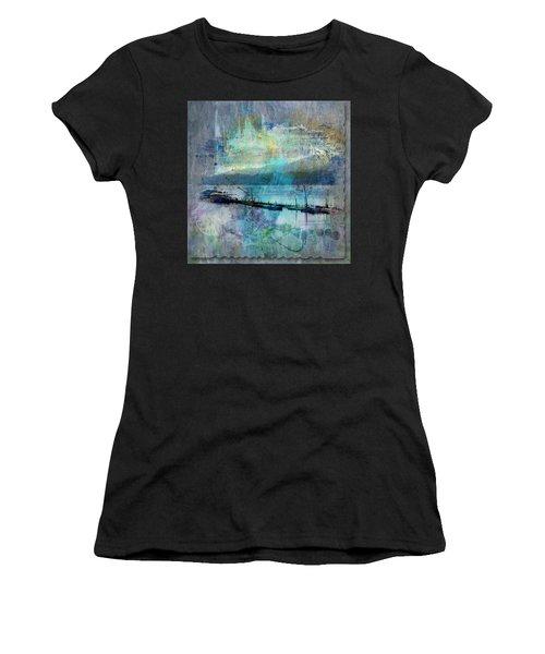 Ohio River Splatter Women's T-Shirt (Athletic Fit)