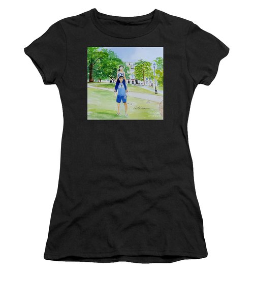Ohio State Memories Women's T-Shirt (Athletic Fit)