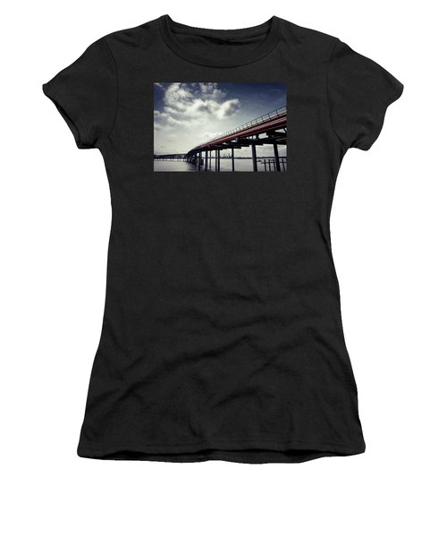 Oil Bridge Women's T-Shirt (Junior Cut) by Joseph Westrupp