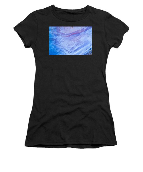 Oil Spill On Water Abstract Women's T-Shirt