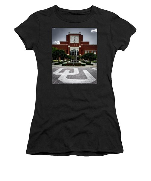 Oklahoma Memorial Stadium Women's T-Shirt (Junior Cut) by Center For Teaching Excellence