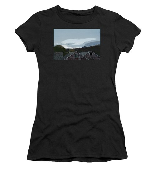 Old Barns Women's T-Shirt (Athletic Fit)