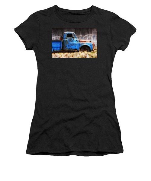 Old Blue Truck Women's T-Shirt