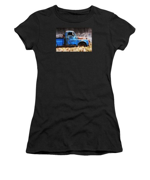 Old Blue Truck Women's T-Shirt