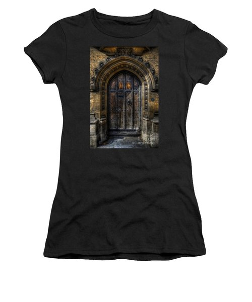 Old College Door - Oxford Women's T-Shirt
