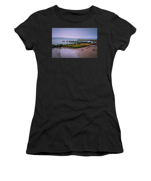 Old Columbia River Docks Women's T-Shirt
