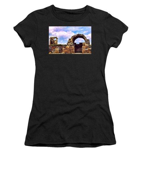 Old Corinth Shop Women's T-Shirt (Athletic Fit)