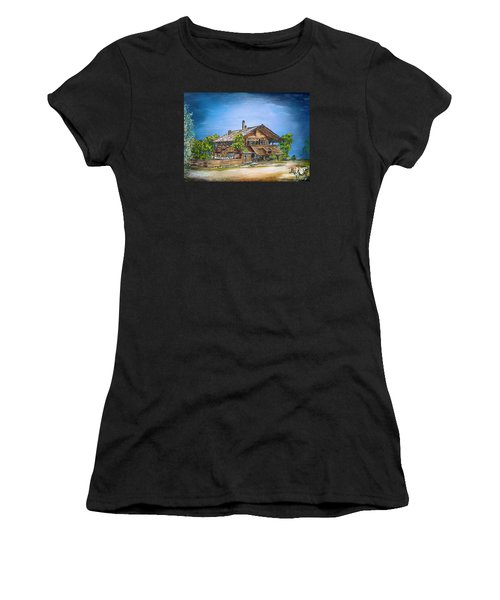 Old Cottage Women's T-Shirt