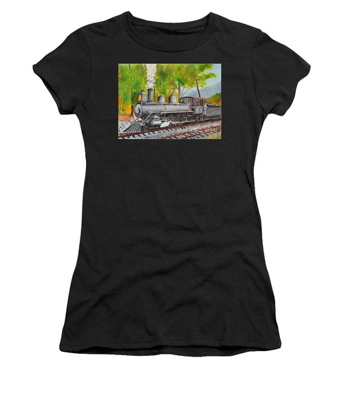 Old Engine 8 Women's T-Shirt (Athletic Fit)