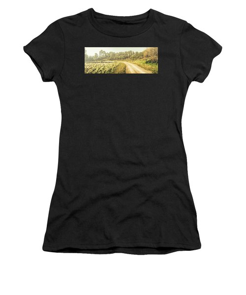 Old-fashioned Country Lane Women's T-Shirt