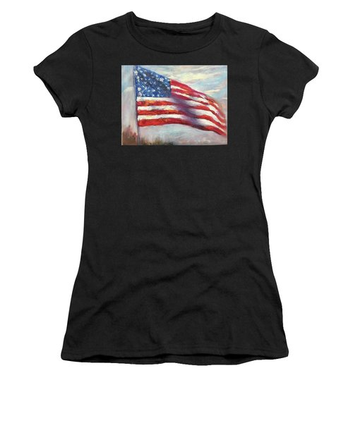 Old Glory Vi Women's T-Shirt (Athletic Fit)