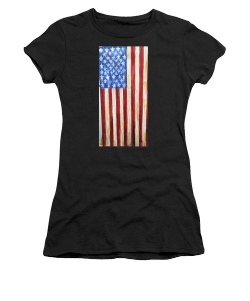 Old Glory Vii Women's T-Shirt (Athletic Fit)