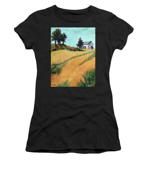 Old House On The Hill Women's T-Shirt (Athletic Fit)