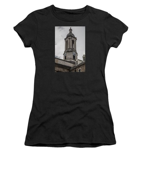 Old Main Penn State Clock  Women's T-Shirt