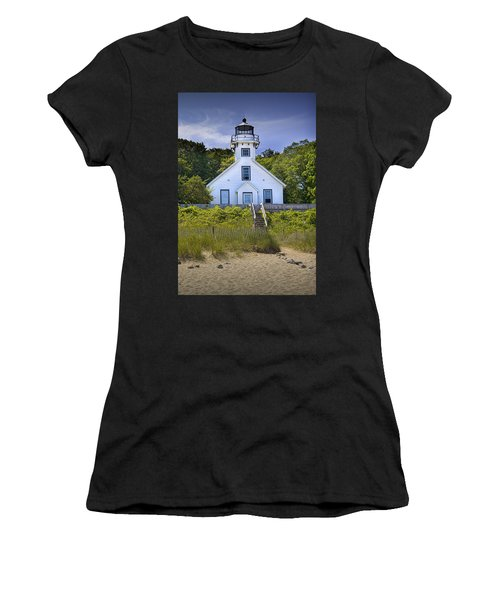Old Mission Point Lighthouse In Grand Traverse Bay Michigan Number 2 Women's T-Shirt