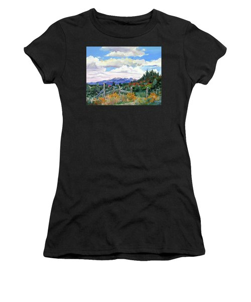 Old North Fence-in Colorado Women's T-Shirt (Athletic Fit)