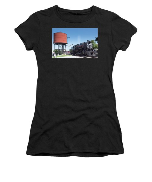 Old Number 90 Steam Engine Women's T-Shirt