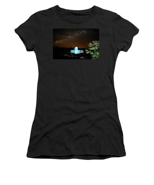 Old Owen Springs Homestead Women's T-Shirt (Athletic Fit)