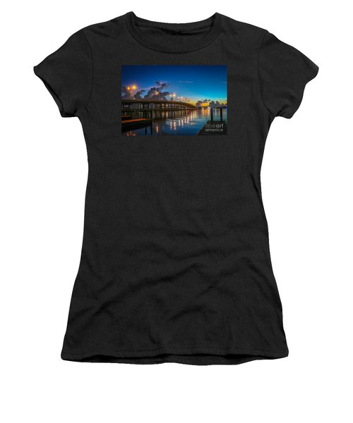 Old Palm City Bridge Women's T-Shirt (Athletic Fit)