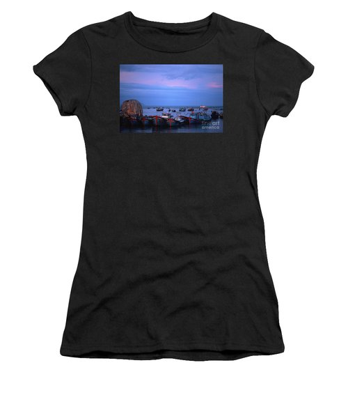 Old Port Of Nha Trang In Vietnam Women's T-Shirt