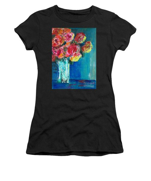 Old Roses Women's T-Shirt (Athletic Fit)