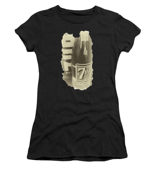 Women's T-Shirt featuring the photograph Old School 7up by David Millenheft