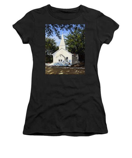 Old St. Andrew Church Women's T-Shirt (Athletic Fit)