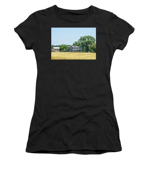 Old Texas Farm House Women's T-Shirt