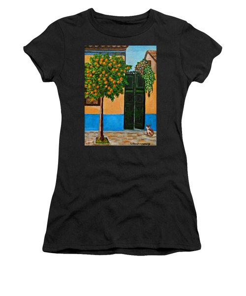Old Times Neighborhood Women's T-Shirt (Athletic Fit)