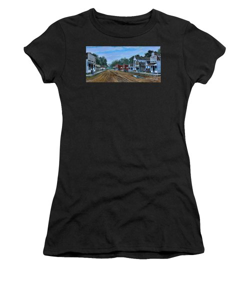 Old Town Breaux Bridge La Women's T-Shirt (Athletic Fit)