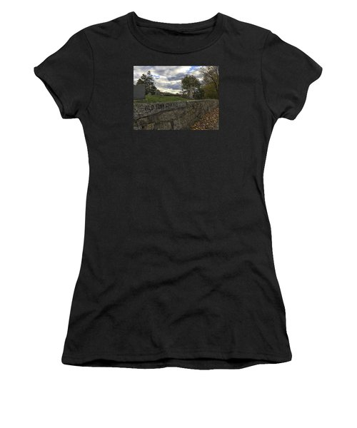 Old Town Cemetery Women's T-Shirt (Athletic Fit)