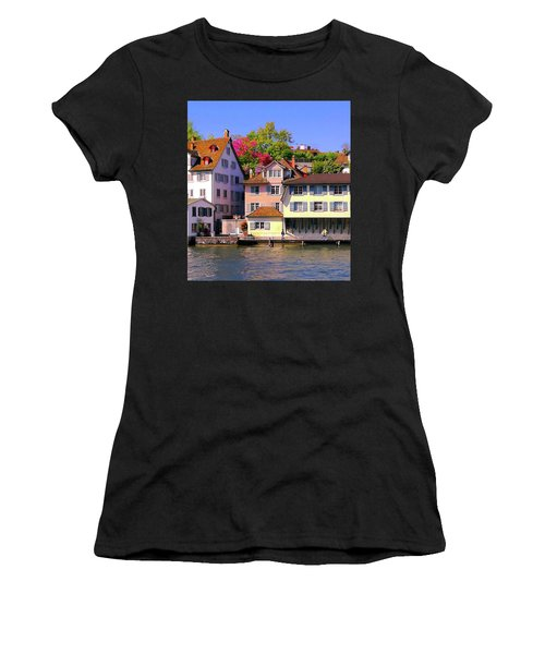 Old Town Zurich, Switzerland Women's T-Shirt