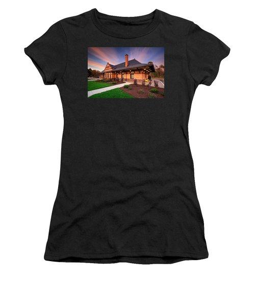 Old Train Station Women's T-Shirt
