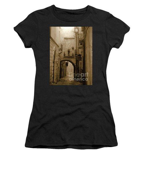Old Village Street Women's T-Shirt