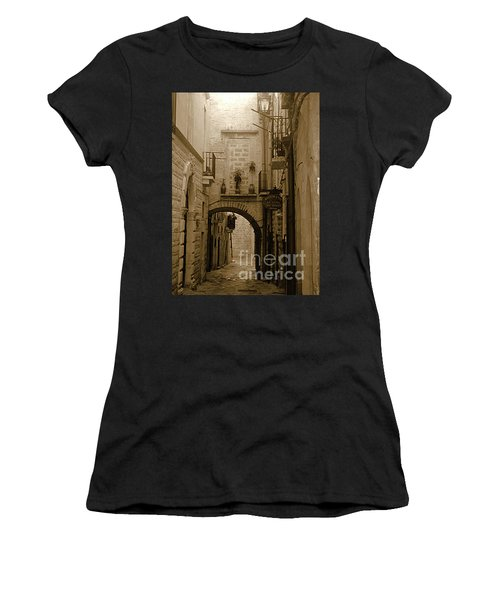 Old Village Street Women's T-Shirt