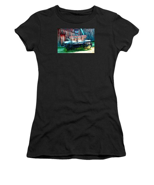 old Wagon In Bodie Women's T-Shirt