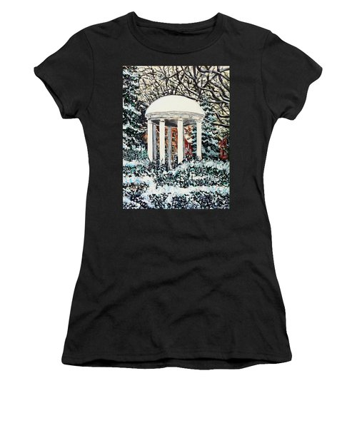 Old Well Winter Women's T-Shirt