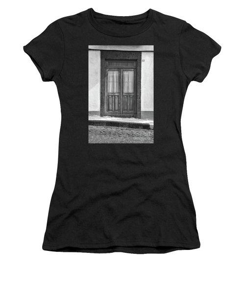 Old Wooden House Door Women's T-Shirt
