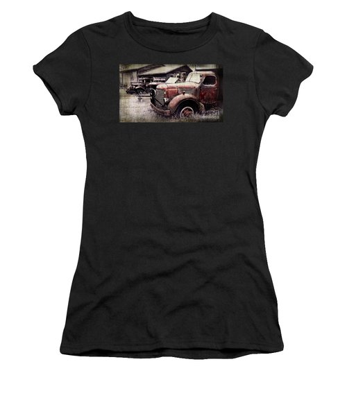 Old Work Trucks Women's T-Shirt (Athletic Fit)